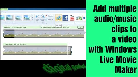 windows  maker  easy add multiple  clips