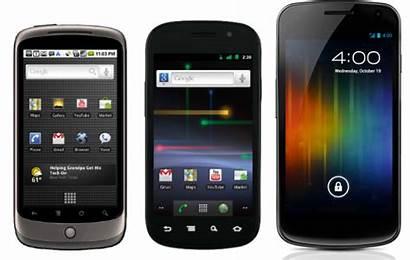 Nexus Phones Lg Samsung Google Smartphone Past