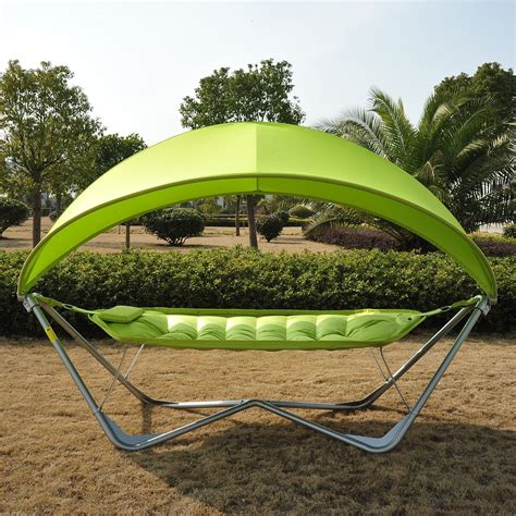 outdoor patio swing with canopy 8 outdoor canopy swing bed options to die for cool and cozy