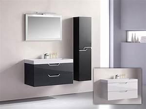 Gäste Wc Badmöbel : badm bel g ste wc waschbecken waschtisch spiegel antonella grau weiss 100cm ebay ~ Frokenaadalensverden.com Haus und Dekorationen