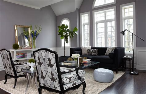 This combo looks great for all kinds of spaces, from kitchens to bedrooms, and today i'd like to have a look how to rock these colors in a living. Gray Living Room in Luxury and Elegance Realm - Amaza Design