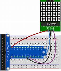 Connecting Max7219 Led Matrix With Spi Bus