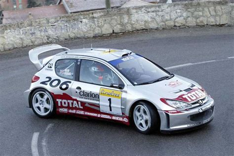 peugeot 206 rally peugeot 206 wrc the last lion on the top of the world