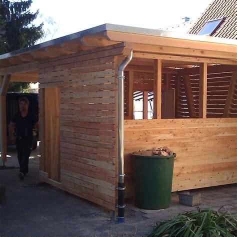 Gartenhaus Zur Sauna Umbauen by Anbau Au 223 Enbereich Die Holzverbindung