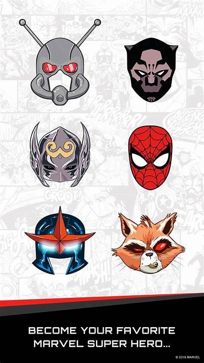 Marvel Stickers App Ios Items Apple Messages