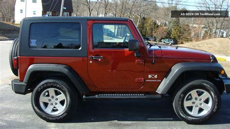 wrangler jeep 2 door 2009 jeep wrangler x sport utility 2 door 3 8l