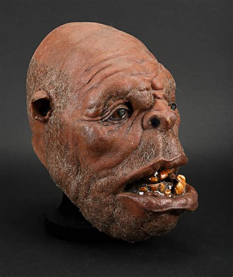 Bearded Ogre Head   Prop Store - Ultimate Movie Collectables