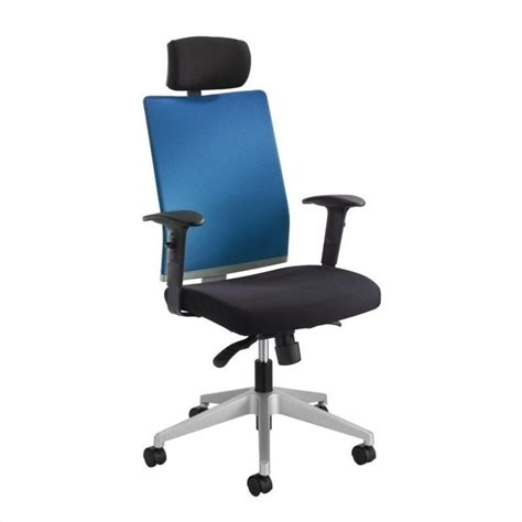 manager office chair with headrest in calypso 7030co