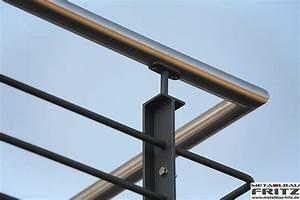 Balkon Handlauf Holz : balkongel nder 30 09 schlosserei metallbau fritz ~ Lizthompson.info Haus und Dekorationen