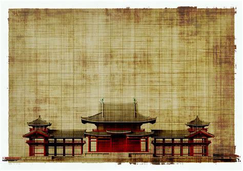 illustration paper parchment architecture