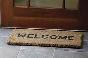 Image Gallery welcome mat