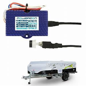 Electric Brake Controller With Remote Head 12v Trailer
