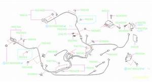 1997 Subaru Legacy Clip-cover Side Sill  Wiring  Main  Rear