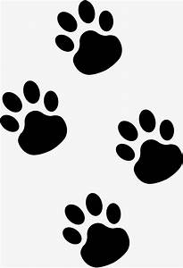Black concise cartoon cat palm, Cat's Paw, The Cat's Paw