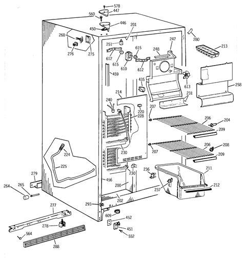 ge tftjabgww side  side refrigerator parts sears partsdirect