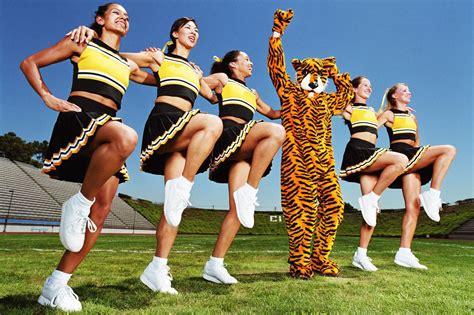 types  cheerleaders