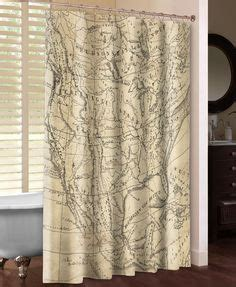 laural home 174 get out and see the world shower curtain