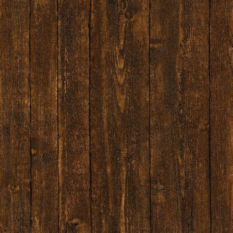 home depot lawn furniture brewster ardennes faux brown wood panel wallpaper 412 56912 the home depot