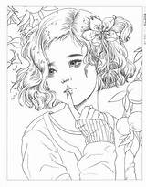 Momogirl sketch template