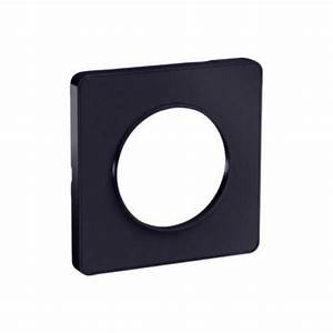 Plaque Schneider Odace : schneider odace touch plaque anthracite 1 poste s540802 ~ Dallasstarsshop.com Idées de Décoration
