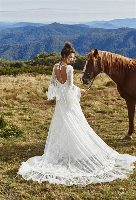 romantic country wedding dresses vestidos de novia
