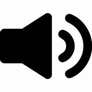Speaker interface audio symbol Icons | Free Download