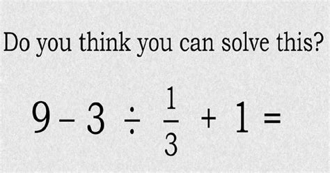 Test Can You Solve This Simple Primary School Maths Problem?