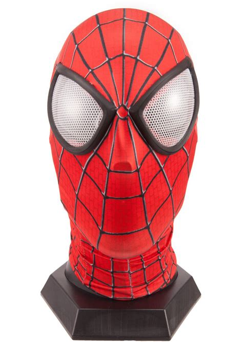 quality  spiderman mask  lens amazing spider man