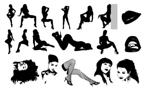 Too Sexy Vector Pack ~ Illustrations On Creative Market