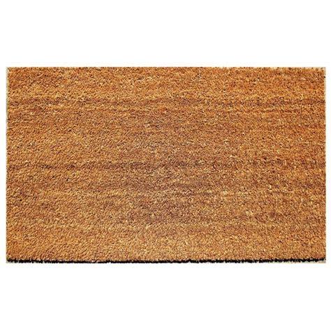 Doormat Or Door Mat by Beige 18 In X 30 In Coir And Vinyl Door Mat 20815 1