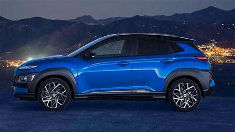 hyundai kona hybrid version unveiled for european markets
