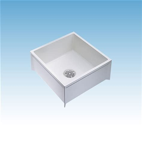 Mustee Mop Sink Specs by Mustee 63m Mop Service Basin 24x24x10 For 3 Quot Dwv
