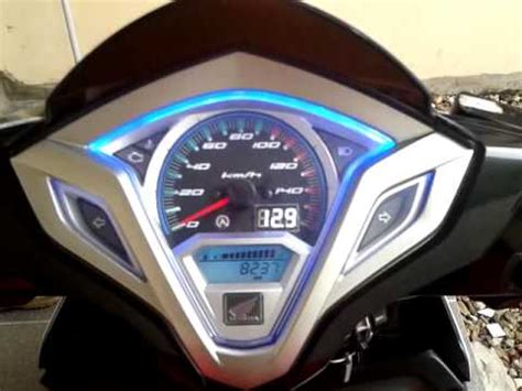 modifikasi spido vario 125 cbs iss volt meter alarm youtube