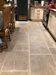 Cleaning, And, Sealing, A, Sandstone, Kitchen, Floor, In, Colne, U2013, Tile, Cleaners