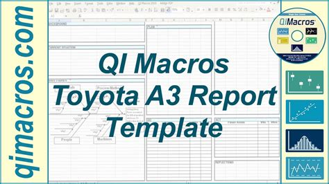 toyota  report template  excel youtube