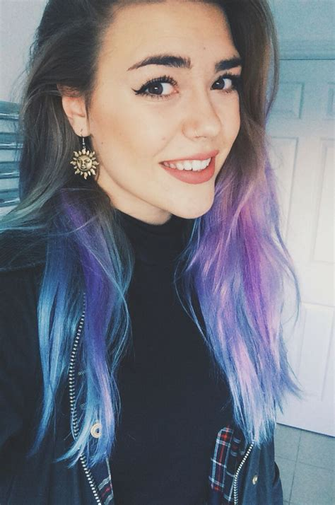 25 Best Ideas About Purple Dip Dye On Pinterest Dip Dye