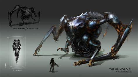Benjamin Sjoberg's Concept Art Of 'the Primordial' From
