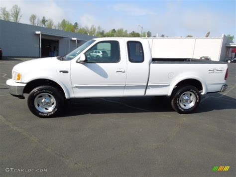 ford truck white oxford white 1997 ford f150 xlt extended cab 4x4 exterior