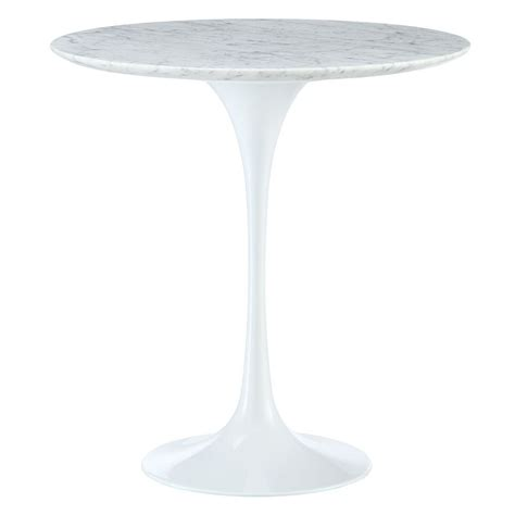 alen air odyssey 20 quot marble modern side table eurway