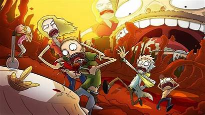 Morty Rick Beth Summer Smith Jerry Adult
