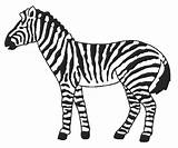 Zebra Coloring Pages Baby Printable Cute Getcoloringpages Coloringnow sketch template