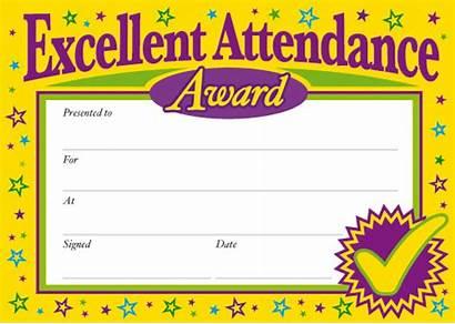 Attendance Certificate Award Perfect Printable Template Certificates