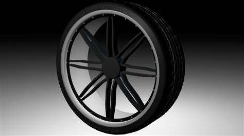 D  Ee  Tire Ee   With Black Chrome  Ee  Rim Ee   By Scotty Do On Deviantart