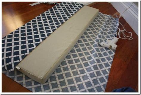 bench cushion tutorial   fabric  cushion