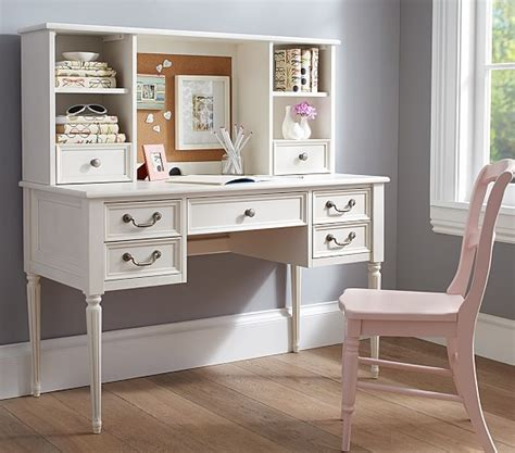 kids desk with hutch blythe desk tall hutch pottery barn kids