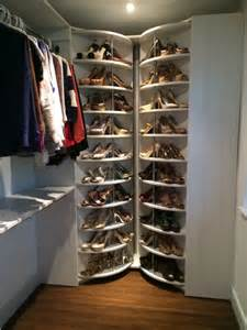 lazy susan for shoes pic included white