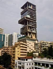 Mukesh Ambani Home Interior Mukesh Nita Ambani 39 S Billion Dollar Home Antilia In Mumbai Zricks