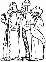 Wise Three Cliparts Coloring Kings Pages Colouring Jesus Printable Wisemen Printables sketch template