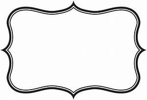 label frame clipart | silhouette | Pinterest | Clipart ...