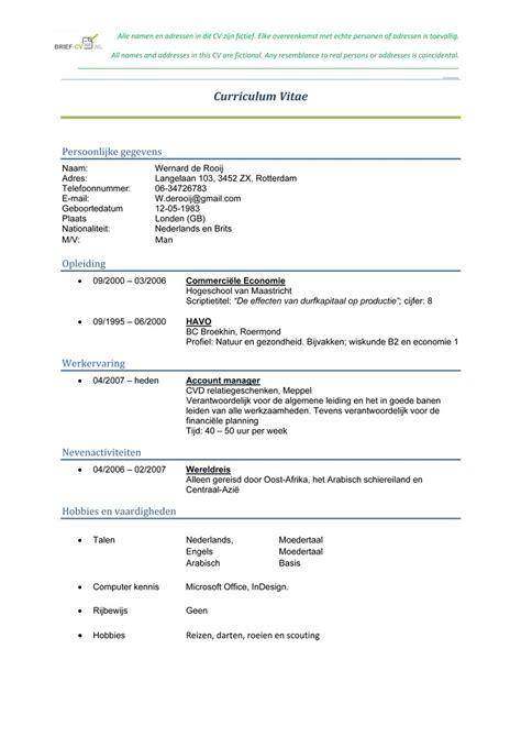 Cv N Resume by Resume Template